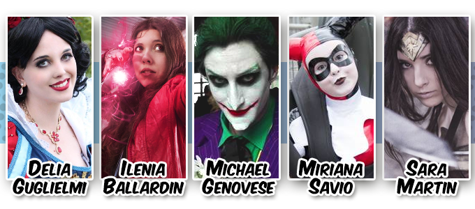 Movieland Cosplay on Stage - Giuria